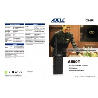 ABELL A560T Analog Walkie Talkie UHF