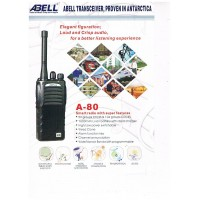 ABELL A-80 Analog Walkie Talkie UHF