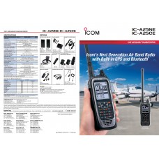 ICOM A25CE AirBand Walkie Talkie