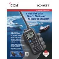 ICOM M37 Marine VHF Walkie-Talkie