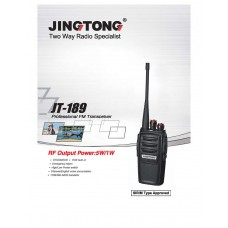 Jingtong JT-189 Analog Walkie Talkie UHF