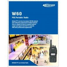 Kirisun W60 IP Walkie Talkie