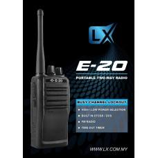 LX E-20 Analog Walkie Talkie UHF