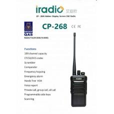 iradio CP-268 Analog Walkie Talkie UHF